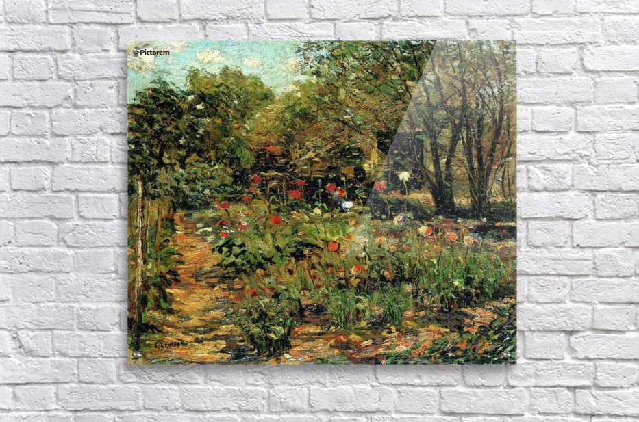 Garden with flowers  Acrylic Print