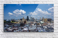 Kansas City Skyline 1  Acrylic Print