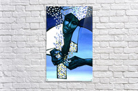 blue fragments  Acrylic Print