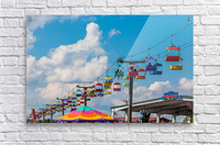 Skylift Over Cumming Fair  Acrylic Print
