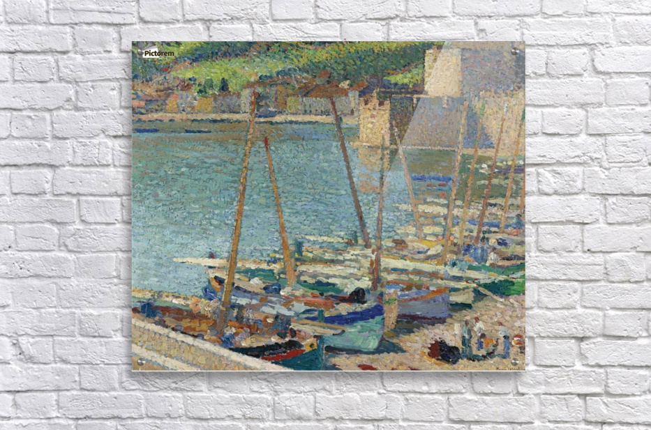 Fishing Boats on the Shore at Collioure  Acrylic Print