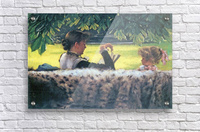 A story read by Tissot  Acrylic Print