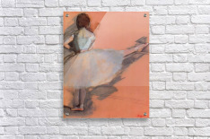 Dancer at the bar 1 by Degas  Acrylic Print