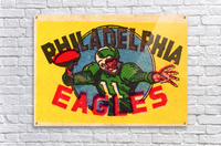 1970s_National Football League_Philadelphia Eagles_Row One Brand  Acrylic Print
