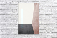 Textured Shapes 04 - Abstract Geometric Art Print  Acrylic Print