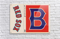 1978 Boston Red Sox Fleer Decal Reproduction 1200 DPI Scan Art by Row One™  Acrylic Print