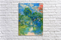 Gardenpath in Mezy by Morisot  Acrylic Print