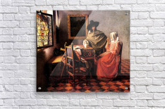 Glass of wine by Vermeer  Acrylic Print