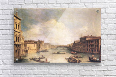 Grand Canal -1- by Canaletto  Acrylic Print
