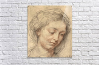 Head of a woman -2- by Rubens  Acrylic Print