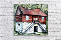 Romania Transylvania Historical Traditional House  Acrylic Print