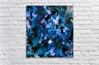 Smouldering blue  Acrylic Print