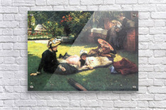In the sun by Tissot  Acrylic Print