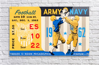 1962_Vintage College Football_Army vs. Navy_Municipal Stadium_  Acrylic Print