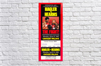 1985 hagler hearns boxing match caesars palace las vegas the fight  Acrylic Print