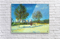 Outskirts by Van Gogh  Acrylic Print