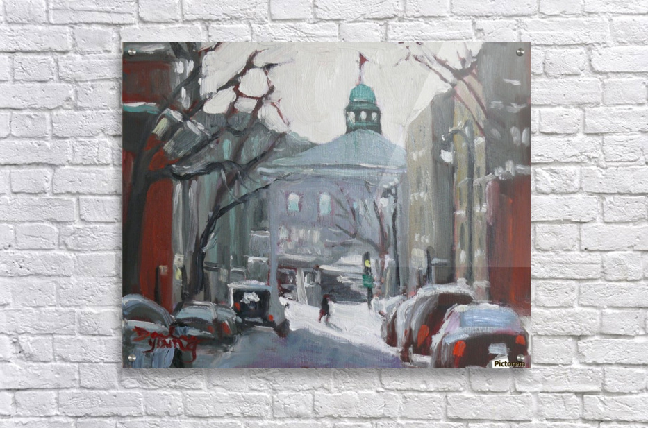 McGill University Montreal Winter Scene