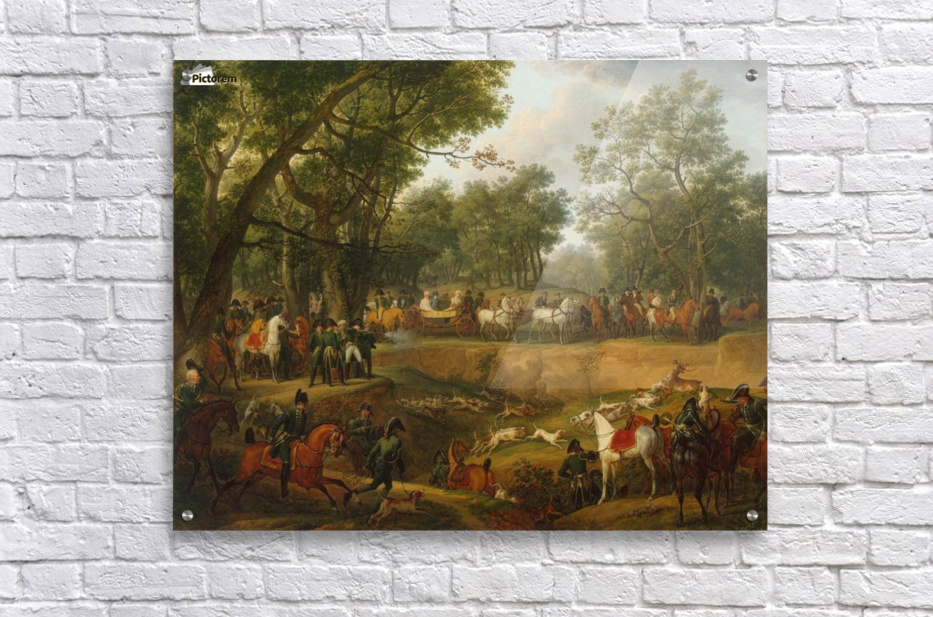Napoleon on a Hunt in the Forest of Compiegne  Acrylic Print