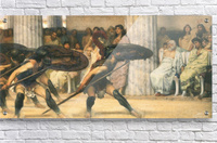 A dance for Phyrrus by Alma-Tadema  Acrylic Print