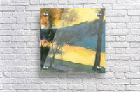 Landscape by Lesser Ury  Acrylic Print