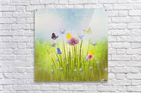 Spring meadow  Acrylic Print