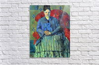 Potrait of Mme Cezanne in Red Armchair by Cezanne  Acrylic Print