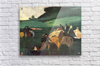 Riders in the  landscape by Degas  Acrylic Print