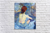 Rousse the Toilet by Toulouse-Lautrec  Acrylic Print