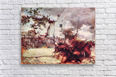 Outskirts of Paris by Giovanni Boldini  Acrylic Print
