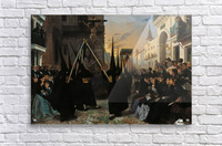 A Confraternity in Procession along Calle Genova  Acrylic Print