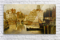 A view of the Blaak Rotterdam  Acrylic Print