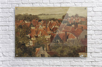 A view of a Dutch town  Acrylic Print