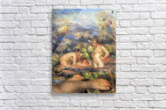 The bathers (Detail) by Renoir  Acrylic Print
