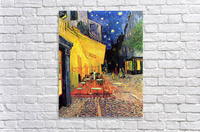 The Cafe Terrace on the Place du Forum Arles at Night by Van Gogh  Acrylic Print