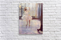 The dancer at the photographer by Degas  Acrylic Print