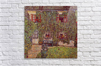 The House of Guard by Klimt  Acrylic Print