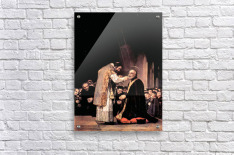 The last communion of St. Joseph of Calasanza by Goya  Acrylic Print