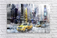 City-Art NYC Collage  Acrylic Print