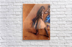 Two dancers 1 by Degas  Acrylic Print