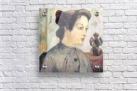 Women With Topknots by Gauguin  Acrylic Print