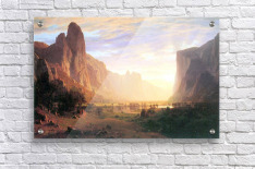 Yosemite Valley 3 by Bierstadt  Acrylic Print