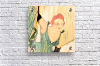Yvette Guilbert greets the Audience by Toulouse-Lautrec  Acrylic Print