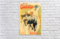 Cycles Gladiator poster in 1897  Acrylic Print