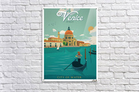 Venice Vintage Travel Poster  Acrylic Print
