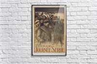 Vintage---Journey-to-Serbia  Acrylic Print