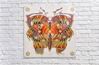 tribal butterfly  Acrylic Print