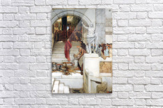 After the Audience by Alma-Tadema  Acrylic Print