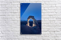 Delicate Arch Night  Acrylic Print