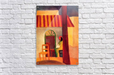 Turkish Cafe by August Macke  Acrylic Print