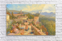 The Sierra Nevada from the Alhambra  Acrylic Print